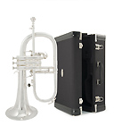 Courtois AC155 Professional Silver Plated - Flugel Horn