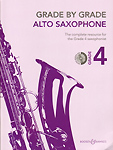 Grade By Grade Alto Saxophone Grade 4 Way + Cd