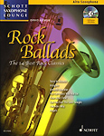 Rock Ballads Alto Book & Cd Saxophone Lounge