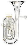 Besson Prestige 2056 Silver - Baritone Horn
