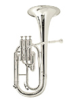 Besson BE1052 Silver Plated - Tenor Horn