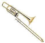 Bach Stradivarius 50B2 Lacquer - Bass Trombone