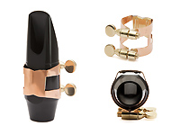 Wood Stone Original Soprano Sax Ligature - Copper