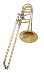 Getzen Custom 3062AF - Yellow Brass Bass Trombone