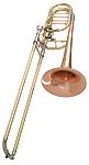 Getzen Custom 3062AFR - Rose Brass Bass Trombone
