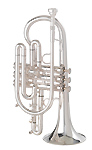Getzen 800 Eterna Silver Plated - Large Bore Cornet