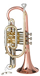 Getzen Custom 3850 - Traditional Lever Waterkey Cornet