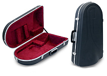 Hiscox Liteflite Tenor Horn Case -  Hard Shaped in ABS