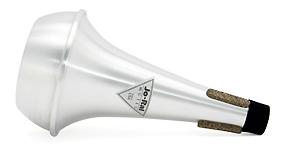Jo-Ral Bass Trombone Mute - Straight - Aluminium