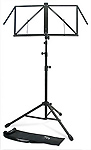 TGI Music Stand with Bag - Black