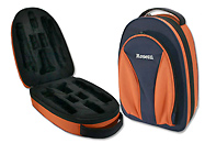Rosetti Backpack Bb Clarinet Case - Blue and Orange
