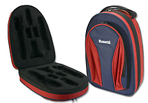 Rosetti Backpack Bb Clarinet Case - Red and Blue