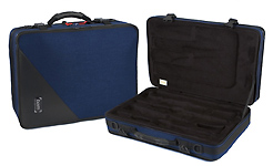 BAM Trekking Bb and A Double Clarinet Case - Navy Blue