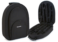 Rosetti Backpack Double Clarinet Case - Black