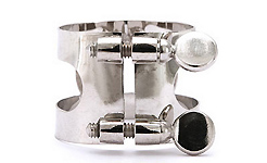 Lucien Bass Clarinet Ligature - Nickel Plated