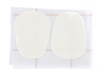 BG A15 Flute non slip white patches - 0.2mm pack 2