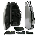 BAM High-tech Alto Sax Case - Graphite