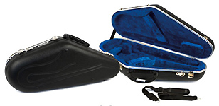 Hiscox Pro II Alto Sax Case - Hard Shaped in ABS