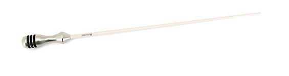 Mollard Lancio Series Baton Carbon Fiber Shaft - Silver Handle 14in