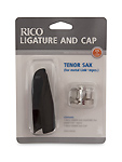 Rico Tenor Sax Ligature and Cap set for Link Mouthpiece