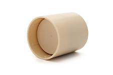Aulos End Cap Set - 511 Tenor Recorder in Cream