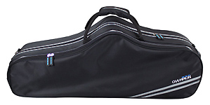 Champion Shaped Tenor Saxophone Case - Black
