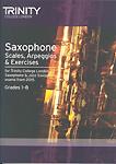 Trinity Saxophone & Jazz Sax Scales etc from 2015