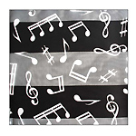 Scarf Black Music Long