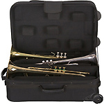 Protec IP301TWL iPAC - Triple Trumpet Case - wheels
