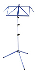 K&M Music Stand 3 Section Deluxe 100/1 - Blue