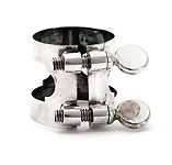 Buffet Eb Clarinet Ligature - in Silver Plate
