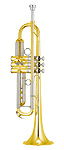 Yamaha YTR-8335R 02 Xeno - Reverse Lead Pipe Bb Trumpet