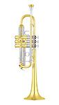 Yamaha YTR-8445 Xeno - Gold Brass C Trumpet