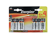 Energizer AA Batteries - Pack of 8