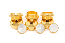 Getzen 24K Gold Plated Trim Kit - Eterna Trumpet