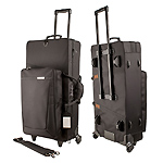 Protec ProPac PB304SOPWL Alto and Soprano Sax Case with Wheels