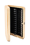 Wooden Oboe Reed Case 12 Reed Capacity - Natural