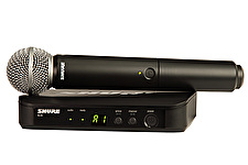 Shure BLX24/SM58 Wireless Mic System