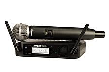 Shure GLXD24/SM58 Wireless Mic System