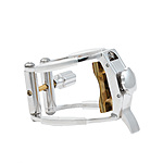 Backun AKCLR Rhodium Clarinet Ligature - Standard Fit