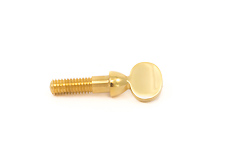 Wood Stone Ligature Screw - Gold Lacquer