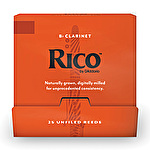 Rico Bb Clarinet Reed Novapak x 25 Reeds