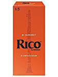 Rico Eb Clarinet Novapak x 25 Reeds - 1.5
