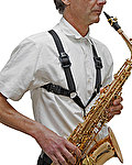 BG Sax Harness Support Sling S40M - male (large) - Metal Hook
