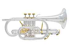 Besson Prestige BE2028 - Silver Plated Bb Cornet