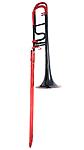 Rath R400 - Bb/F Trombone (Red & Black)
