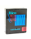 Rico Jazz Select Filed Alto Saxophone Reed Box of 10 - Strength 4M