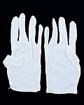 Gloves - White Cotton