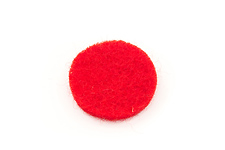 Windcraft Felt Disc - Red 15mm x 2mm