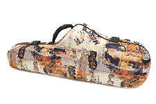 Winter Orange Wave Tenor Saxophone Case